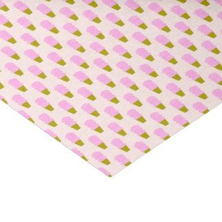 Papel De Seda Conos de helado rosados