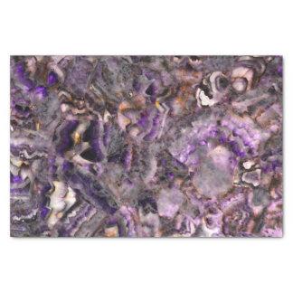 Papel De Seda Cuarzo púrpura