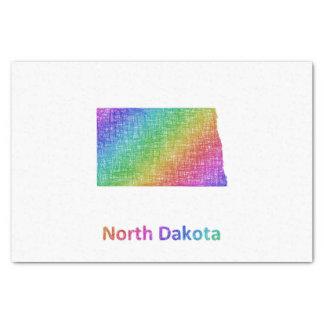 Papel De Seda Dakota del Norte