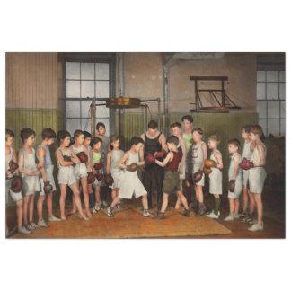 Papel De Seda Deporte - boxeo - puños de la furia 1924