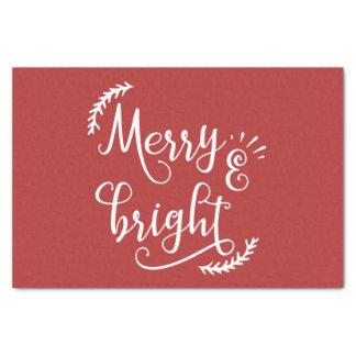 Papel De Seda día de fiesta feliz y brillante del navidad