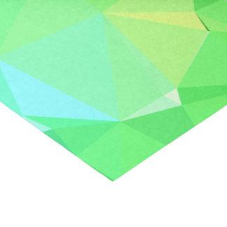 Papel De Seda Diseño geométrico abstracto de LoveGeo - bosque