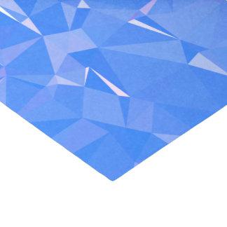 Papel De Seda Diseños geométricos elegantes y limpios - zafiro