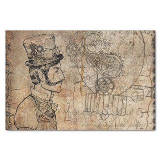 Papel De Seda El día de padre del sombrero de copa del inventor