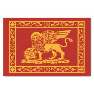 Papel De Seda El escudo de armas de Venecia, Italia