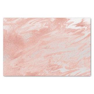 Papel De Seda El oro color de rosa rosado coralino se ruboriza