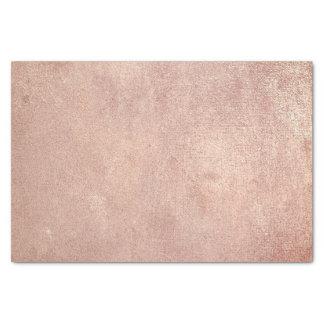 Papel De Seda El oro color de rosa rosado metálico se ruboriza