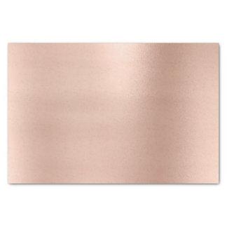 Papel De Seda El oro color de rosa rosado se ruboriza lujo