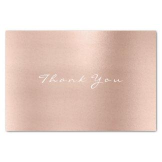 Papel De Seda El oro color de rosa rosado se ruboriza metálico