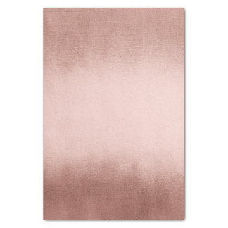 Papel De Seda El oro color de rosa rosado se ruboriza polvo