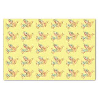 Papel De Seda Elegante colorido de Pascua de la tipografía feliz