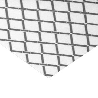 Papel De Seda Enrejado del gris de carbón de leña por el estudio