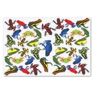 Papel De Seda Envenene las ranas del dardo, rana mugidora