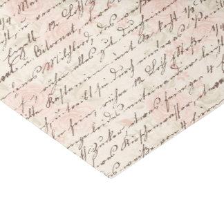 Papel De Seda Escritura del vintage