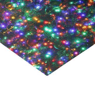 Papel De Seda Estrellas chispeantes del navidad