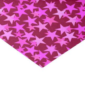 Papel De Seda Estrellas, vino de Borgoña y rosa geométricos