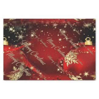 Papel De Seda Felices Navidad y una Feliz Año Nuevo