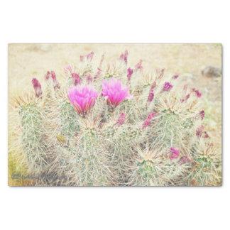 Papel De Seda floraciones del desierto