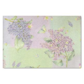 Papel De Seda Flores de las lilas
