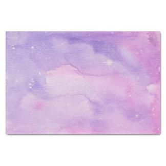 Papel De Seda Galaxia rosada y de color de malva