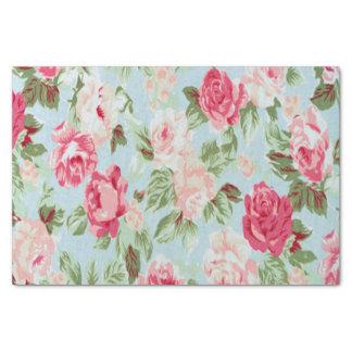 Papel De Seda hermoso, floral, rosado, vintage, victorian,