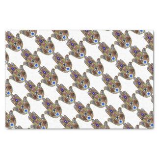 Papel De Seda Impresión del ópalo del arte de las flores de los