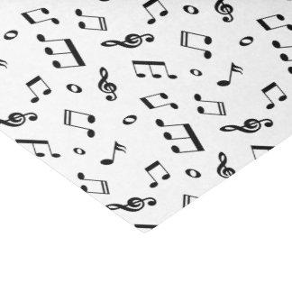 Papel De Seda La música observa el modelo