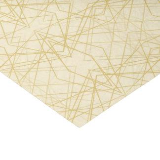 Papel De Seda Línea geométrica diseño