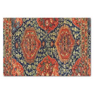 Papel De Seda Manta oriental en blue&orange