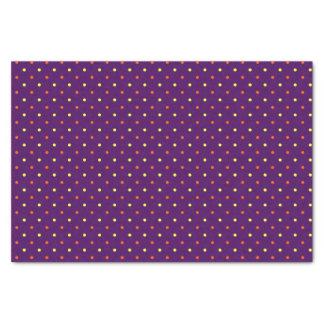 Papel De Seda Mini lunares púrpuras y multi 01