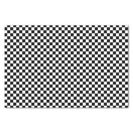 Papel de seda modelo a cuadros blanco y negro del tablero for Papel pintado blanco y negro