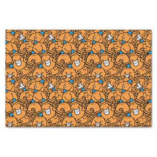 Papel De Seda Modelo anaranjado de las cosquillas de Sr. Tickle