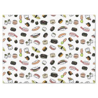 Papel De Seda Modelo de los caracteres del sushi