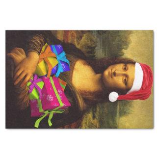 Papel De Seda Mona Lisa Papá Noel