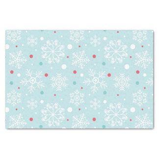 Papel De Seda Navidad del copo de nieve