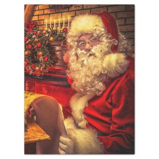 Papel De Seda Papá Noel 4