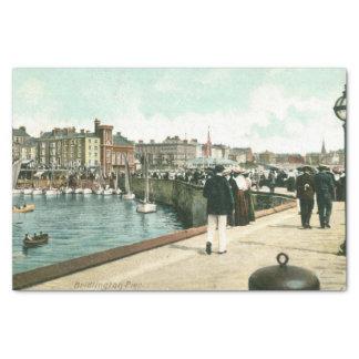 Papel De Seda Pier del norte, 1905) papeles seda de Bridlington