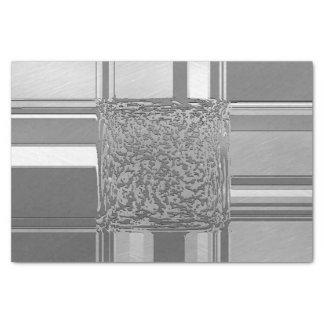 Papel De Seda plata metalizado 03 del arte
