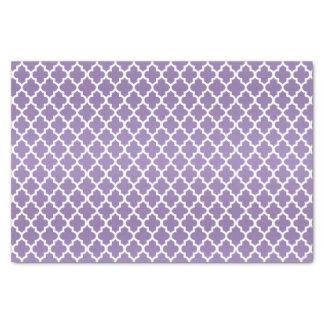 Papel De Seda Púrpura y modelo bonitos de Quatrefoil