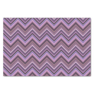 Papel De Seda Rayas de color de malva del zigzag