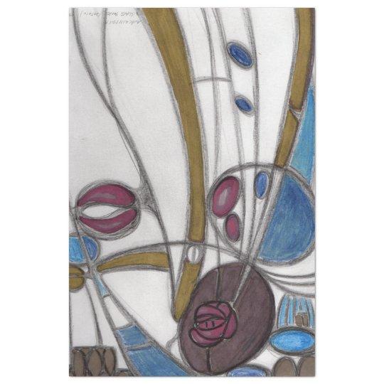 Papel De Seda Rosas de Mackintosh