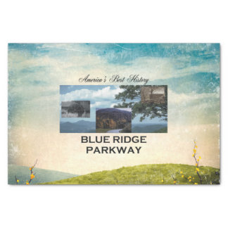 Papel De Seda Ruta verde azul de ABH Ridge