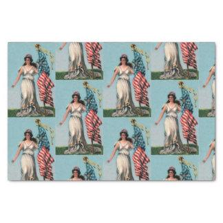 Papel De Seda Señora Liberty del vintage