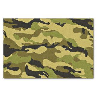 Papel De Seda Textura verde del ejército del camuflaje