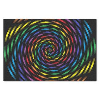 Papel De Seda Un molinillo de viento del arco iris en el