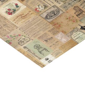 Papel De Seda Vintage en la impresión