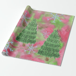Papel del árbol de navidad