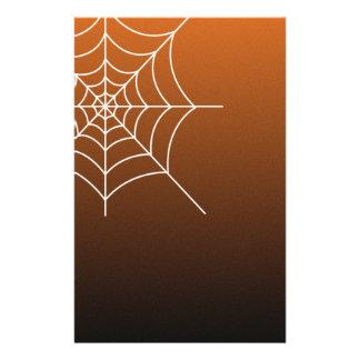 Papel del libro de recuerdos del Web de araña de H Folleto 14 X 21,6 Cm