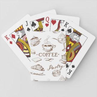 Papel dulce cartas de juego