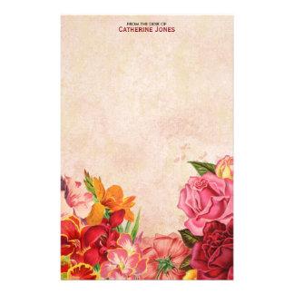 Papel floral el | del vintage del vintage elegante